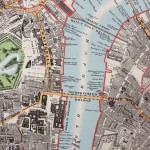 Map of London 1863
