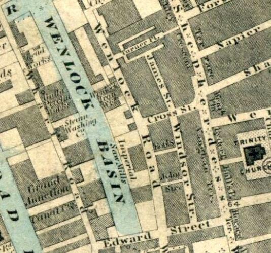Wenlock Basin - 1863