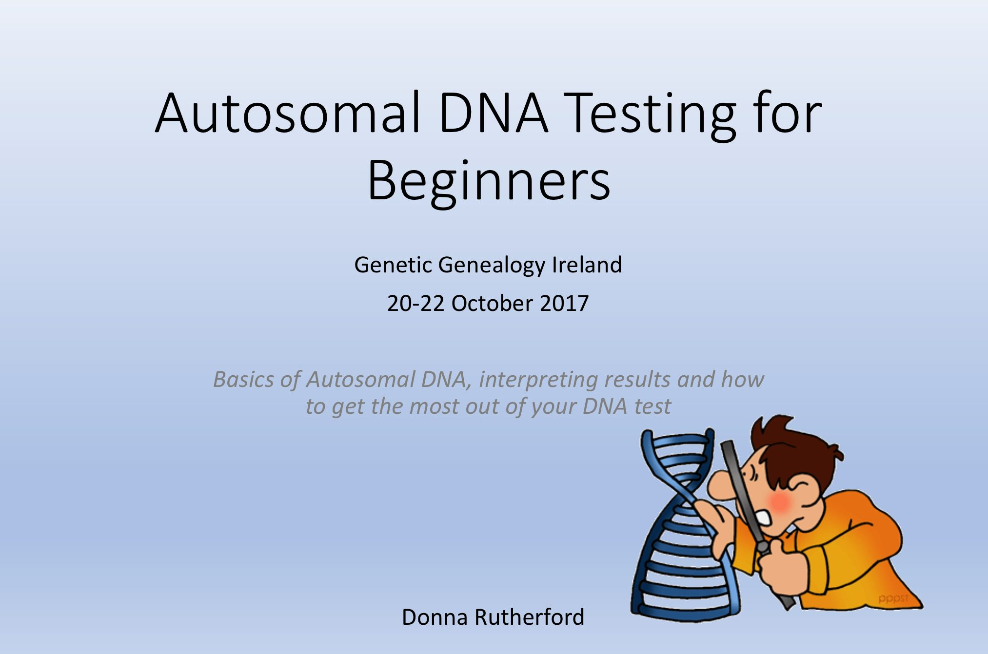 My Living DNA result has arrived – Donna Rutherford