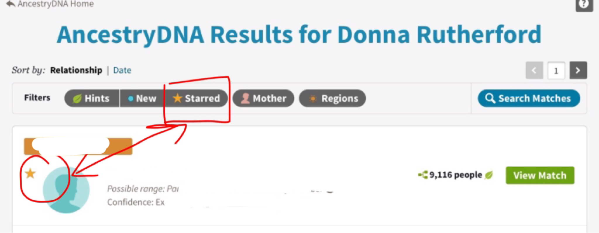 Searching, Sorting and Filtering your DNA matches – Donna Rutherford